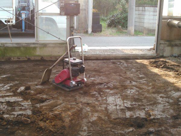温室の改修工事サムネイル
